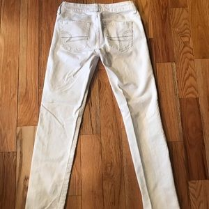 American Eagle jeans, new without tags, off white